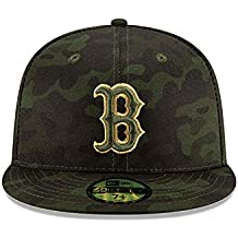 new arrival d85d7 826b9 New Era Boston Red Sox 2019 MLB Armed Forces Day On-Field 59FIFTY Fitted Hat