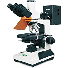 DIN 10X Achromatic 4X 360 Degree Viewing Angle 40X Objective Type 100X Magnification VanGuard 1430BR Brightfield Clinical Microscope with Trinocular Head Halogen Illumination