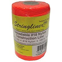 Stringliner 25162 1//8 Lb Braided Pink NylonPro ReelReloadable Construction Ln