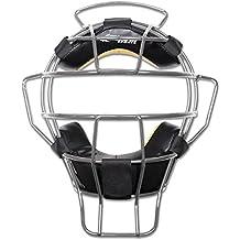 CHAMPRO Pro-Plus Aluminum Lightweight Umpire Mask Dri-Gear Ump Black//Silver CM82