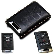 Pink MAXMILO Soft TPU Case Cover Protector Case for Cadillac Key Fob Car Remote Key Fob Case for Cadillac ATS-L CT6 XTS XT5 CTS SRX Escalade Fob Remote Key+Keychain