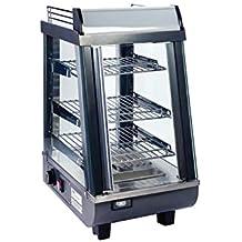 Winco EDM-2PR Pretzels Display Merchandiser 22 x 16 Stainless Steel Pretzel Rack for EDM-2