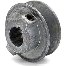 - 1 1//8 Bore 4.5 Dia Phoenix Mfg V-Groove Drive Pulley Cast Iron