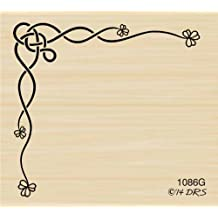 Ink Stamping Crafts Card Making Crafts Celtic Knot Design Pattern Style 8147 Rubber Stamp Shape great for Scrapbooking