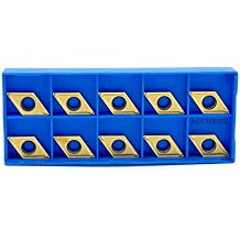 Pack of 10 DCGT 32.51 High Polish Carbide Inserts for Aluminum RISHET TOOLS 42084 DCGX 32.51