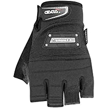 Beige//Black Polyester Leather Galeton 9120101-XL-BK Max Jammer Plus Pigskin Palm Anti-Vibration Utility Work Gloves with Wrist Tabs X-Large