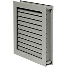 Stainless Steel 20 Height National Guard Products National Guard L700RX20X8 L-700-Rx-20X8 Self Attach Louver 20 x 8 20 Height