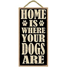 INC SJT ENTERPRISES Dogs Welcome People Tolerated 5 x 10 Primitive Wood Plaque Sign INC SJT94828 Dogs Welcome People Tolerated 5 x 10 Primitive Wood Plaque Sign SJT94828