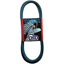 3VX Section 21//64 Height 47.5 Belt Outside Circumference 1-1//2 Overall Width Gates 4//3VX475 Super HC Molded Notch Powerband Belt