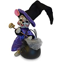 Annalee 6in Plaid Tidings Gift Girl Mouse