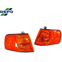 DEPO Chrome Clear Corner Signal Light Set FIT FOR 1989-1995 Ford ...
