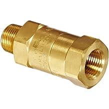 Dixon Valve SCVM3 Brass Safety Check Valve 39-47 SCFM Flow 3//8 NPT Male x 3//8 Hose ID Barbed