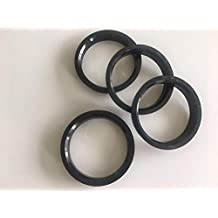NB-AERO Aluminum Hub Centric Rings 73mm OD to 71.5mm ID Hubcentric Center Ring Fits 71.5mm Vehicle Hub to 73MM Wheel Centerbore Pack of 4