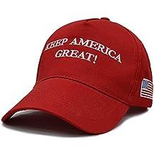 Unisex ManCool Denim Dad Hat Unconstructed Trump MAGA 2020 Vintage American Flag Fishing Baseball Hat
