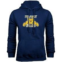 CollegeFanGear Navy Navy Fleece Full Zip Hoodie Navy Alumni