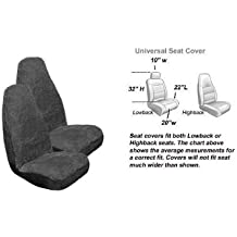 2 Low Back Seat Covers and 1 Bench Cover 3 Piece Kraco 804599 Prestige Kit