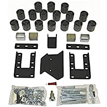 Made in America fits 2007 to 2009 Mega Cabs 3 Body Lift Kit PA60193 Dodge Ram 2500//3500 Diesel 4WD Incl Performance Accessories