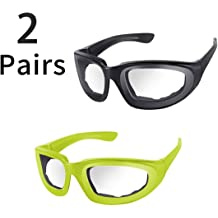 Anti-spicy No-Tears Kitchen Onion Glasses 3 piecesOnion Goggles Glasses Eye Protector with Inside Sponge for Chopper Onion Tearless BBQ Grilling Dust-proof for Women Men Cleaning Kitchen Anti-Fog