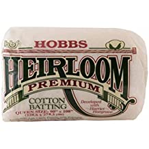 HB120 Hobbs Heirloom Bleached King Size 120 x 120 Inches