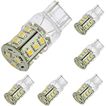 1412WHx6 LEDwholesalers Tower Type G4 Base 10 to 32 Volt Ac Dc 18 SMD White LED 216 Lumen 360 Degree, Package of 6