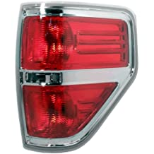 Sherman Replacement Part Compatible with Chevrolet Silverado Passenger Side Taillight Assembly Partslink Number GM2801207