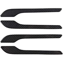 ETIAL Turn Signal ABS Plastic Indicator Cover Carbon Fiber Cap Side Camera Protector for Model 3 S X White