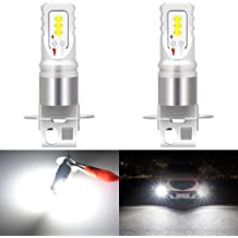 KaTur 9005 HB3 LED Fog Light Bulbs Headlight Bulbs DRL Extremely Bright Canbus 3570 Chips Max 100W 3000 Lumens Conversion Kit,6000K Xenon White-2 Yrs Warranty