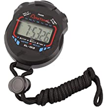 Pysod Seed Stopwatch Football Running Timer Digital Sports Stopwatch Timer LCD Display Suitable for Football Swimming Fitness and More Basketball Running