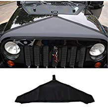 Black Prevents Dust From Entering The Cab Through The Ventilation System When Off Roading. Jeep Wrangler 2007-2018 Hood Vent Cover