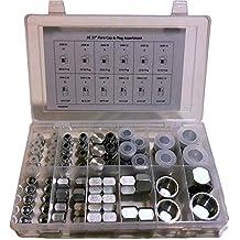 6502-06-06 Hydraulic Fitting 3//8 Male JIC X 3//8 Female JIC Swivel 45 Degree Carbon Steel