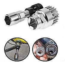 KOOBOOK 4Pcs//Set Mountain Bike MTB Bicycle Repair Kit Crank Chain Axis Extractor