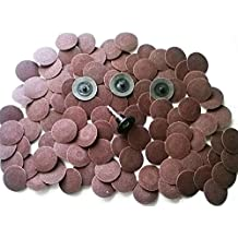 Abrasive Tools 50pcs 2 36-320# Roloc sanding disc Roll lock Type R abrasive disc quick chang disc for metal by BATULY