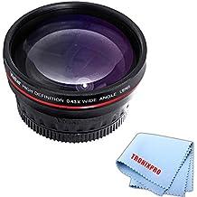 J4 J3 J5 a5100 40.5mm a6300 Wide Angle .43x Conversion Lens with Macro Close-Up Attachment For Sony Alpha a6500 V1 J2 a5000 V3 Mirrorless Digital Camera S2 NIkon 1 AW1 J1 S1 a6000 V2