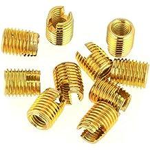 Ochoos 100Pcs//Lot 304 Stainless Steel Wire Threaded Inserts Screw Sleeve Thread Repair Insert Assortment Kit Thread Repair kit