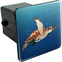 Truck Receiver Hitch Plug Insert CafePress 3 Blue Honu Turtles Trailer Hitch Cover