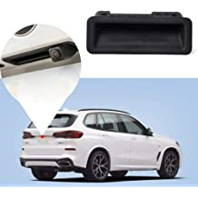Suuonee Rear Window Cover Frame Toyota RAV4 2019 2pcs ABS Carbon Fiber Styling Rear Window Sequined Trim Cover Frame Fit for