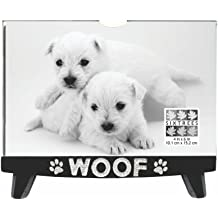 SIXTREES A Dog Wags His Tail Box Sign 5 by 11-Inch