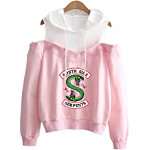 Eudolah Newly Arrival Boys Fashion Riverdale Serpents Long Sleeve Hoodie Southside Serpents Outerwear Pullover