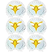 Made Ltd Costumes & Accessories Girls Blue Frog Toys Pack of 6 Eagle Foam Face Masks