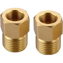 Midland 2404-2-2 Straights Steel Flare 37degree Male Connector 5//16-24 JIC Thread x 1//8 Male Pipe Thread
