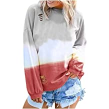 ZUong2 Womens Cowl Neck Drawstring Long Pullovers Sweatshirt Casual Long Sleeve Plaid Patchwork Buttons Vintage Tops