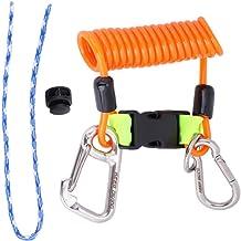 Jili Online 2 Pieces//Set Scuba Diving Dive Snorkeling Adjustable Hand Wrist Lanyard Strap Cord Rope Leash Gear Equipment Holder Accessories 7 Colors