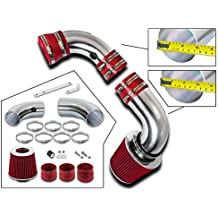 Rtunes Racing Cold Air Intake Kit Filter Combo BLACK Compatible For 05-09 Compatible Ford Mustang 4.0L V6