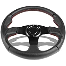 Hodenn/380mm 14inch Wood Steering Wheel with Horn Kit Fit for/Chevy Classic