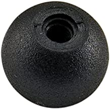 Polished Finish Kipp 06247-340102 Stainless Steel Ball Knob with Reamed Hole 40 mm Diameter Style K Metric