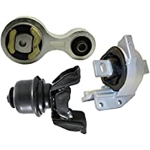 Pack of 2 Front Motor Mount Struct for Left Right Buick Chevrolet Pontiac Compatible with A2866 EM2866