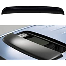 VioletLisa 34 Universal Thickness Dark Smoke Tint Top Sun//Moon Roof Rain Snow Guard Window Sunroof//Moonroof Wind Deflector