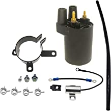 Loofu Ignition Coil 166-0772 Compatible with Points Models BF B43 B48 NHC CCK ONAN 166-0820