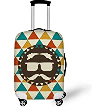 YOJOLO Suitcase Protector,18Inch-32 Inch Dustproof Scratchproof Elasticity Travel Luggage Covers Suitcase Cover Protector Suitcase Accessories,A,L