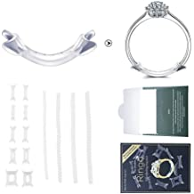 WXLAA Ring Size Adjuster for Loose Rings 76PCS Invisible Ring Sizer Fit Men Rings Women Rings
